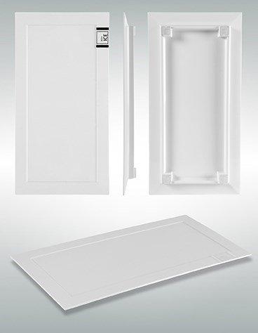 Acryltablett in weiß 30 x 15cm