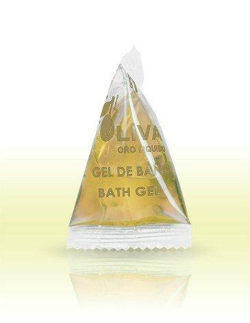 Duschgel Olive 15 ml im Pyramiden-Sachet