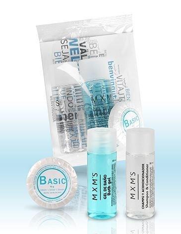 Hygiene Set Top Line Shampoo 20ml, Duschgel 20ml und Handseife 10g | 100 Stück