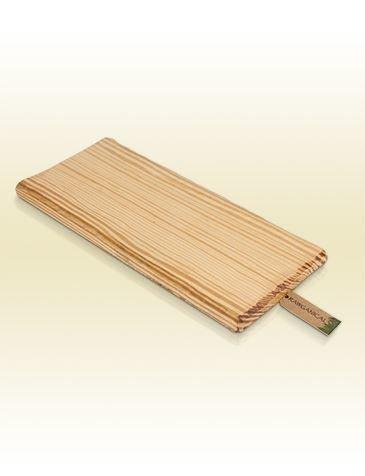 Holztablett für Hotelkosmetik Rawganical
