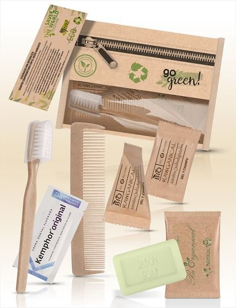 Hygiene Kit Go Green Basic   125 Stück