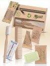 Hygiene Kit Go Green Basic Personalisiert | 125 Stück