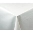 Weiße Tischdecke glatt