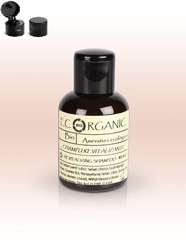 Shampoo Ecorganic Minze 40 ml Neutral | 24 Stück