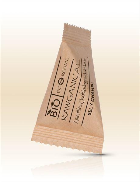 Duschgel & Shampoo Ecorganic im Pyramiden-Sachet 15 ml   40 Stück